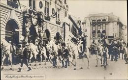 Cp Kaiser Karl I. Von Österreich Ungarn, Erzherzogin Zita Von Bourbon Parma, Krönung - Familles Royales
