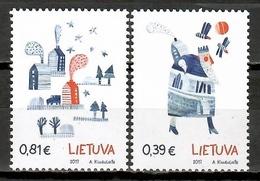 Lithuania 2017 Lituania / Christmas MNH Nöel Navidad Weihnachten / Cu10838  C5 - Noël