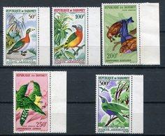 1967- DAHOMEY - BIRDS-OISEAUX-   5 VAL. - M.N.H. -LUXE ! - Bénin – Dahomey (1960-...)