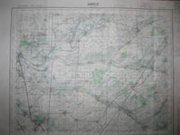 Asfeld Ardennes Carte état Major 1/50000 1971 Neufchatel Bourgogne Blanzy - Cartes Topographiques