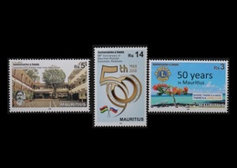 Mauritius 2018 Anniversaries & Events 3v MNH Stamps Complete Set - Maurice (1968-...)