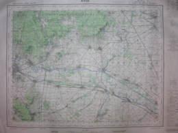 Avize Marne Carte état Major 1/50000 1969 Bouzy Chouilly Matougues Billy Trépail - Cartes Topographiques
