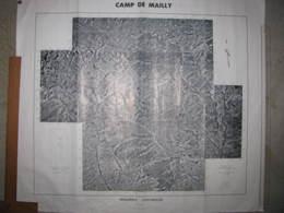 Camp De Mailly ( Aube)  Photo Aérienne 1970  1/25000 - Cartes Topographiques