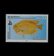 Mauritius 2018 Birth Bicentenary Of Nicolas Pike 1v MNH Stamps Complete Set - Maurice (1968-...)