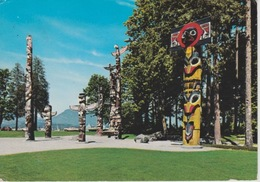 19 / 1 / 342  -TOTEM  POLES, STANLEY  PARK, VANCOUVER  B.C.  CANADA  - C. P. M. - America