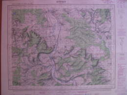Stenay Carte état Major 1/50000 - Cartes Topographiques