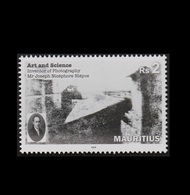 Mauritius 2018 Inventor Of Photography 1v MNH Stamps Complete Set - Maurice (1968-...)