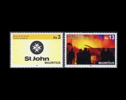 Mauritius 2018 Fire Rescue & Life Saving 2v MNH Stamps Complete Set - Maurice (1968-...)