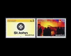 Mauritius 2018 Fire Rescue & Life Saving 2v MNH Stamps Complete Set - Mauritius (1968-...)