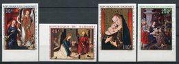 1969- DAHOMEY - ART.TABLEAUX-   4 VAL.IMPERF. - M.N.H. -LUXE ! - Bénin – Dahomey (1960-...)
