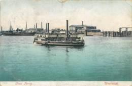 U.K. - Woolwich - Free Ferry - London Suburbs