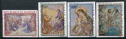 1968- DAHOMEY - ART.TABLEAUX-   4 VAL.IMPERF. - M.N.H. -LUXE ! - Bénin – Dahomey (1960-...)
