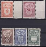 Belgie    .     OBP    .   756/760    .      **    .      Postfris  .   /     .  Neuf SANS Charniere - Belgien