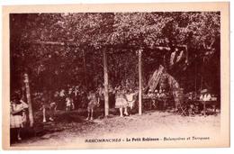 3885 - Arromanches ( 14 ) - Le Petit Robinson ( Balençoires & Terrasses ) - - Arromanches