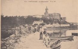 CPA - Fontarabie - Le Débarcadère - Espagne