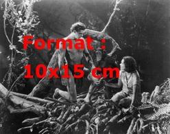 Reproduction D'une Photographie Ancienne De Johnny Weissmuller Dans Le Rôle De Tarzan Avec Jane Maureen O'Sullivan 1934 - Reproductions