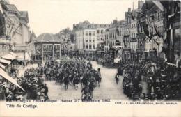 Namur - 3/7 Septembre 1902 - XIVe Congrès Eucharistique  - Les Gendarmes En Tête Du Cortège - Namur
