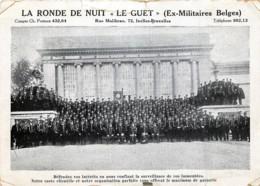 Ixelles - La Ronde De Nuit - Le Guet ( Ex-Militaires Belges ) - Elsene - Ixelles