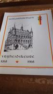 Geraardsbergen :  Herdenkingskaart Vrijheidskeure 1068 - 1968 - Obj. 'Souvenir De'
