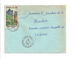 COTE D'IVOIRE LETTRE DE ABOISSO POUR LA FRANCE 1969 - Côte D'Ivoire (1960-...)