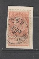 COB 57 Oblitéré ASSESSE - 1893-1900 Schmaler Bart