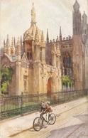 """J.Finnemore, King's College. Cambridge"" Tuck Oilette Cambridge Colleges Ser. PC # 2713 - Tuck, Raphael"