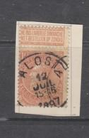 COB 57 Oblitéré ALOST - 1893-1900 Schmaler Bart