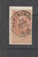COB 57 Oblitéré HUY (Nord) - 1893-1900 Schmaler Bart