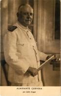 ESPAÑA GUERRA CIVIL - Espagne - Guerre Civile Espagnole - Les Généraux : Almirante Cervera - Guerres - Autres