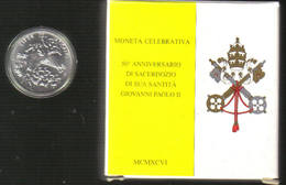 VATICANO 1996 500 Lire 50° Anniversario Sacerdozio Fdc - Vaticano