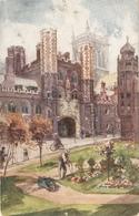 """J.Finnemore,St.John's  College. Cambridge"" Tuck Oilette Cambridge Colleges Ser. PC # 2713 - Tuck, Raphael"