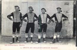 France - 64 - Groupe Des Meilleurs Danseurs Basques - France