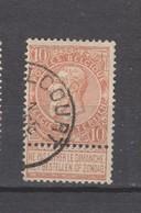 COB 57 Oblitéré WALCOURT - 1893-1900 Schmaler Bart