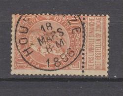 COB 57 Oblitéré HOUFFALIZE - 1893-1900 Schmaler Bart