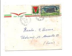 COTE D'IVOIRE LETTRE DE AGNISILEANOU POUR LA FRANCE 1970 - Côte D'Ivoire (1960-...)