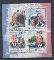 N91. Guine-Bissau - MNH - 2011 - Famous People - Charles De Gaulle - Altri