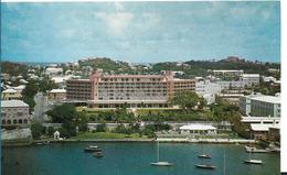 BERMUDA HAMILTON HARBOUR BERMUDIANA HOTEL - Bermudes