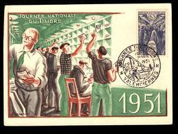 Journée Du Timbre 1951 - VALENCIENNES - Día Del Sello