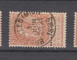 COB 57 Oblitéré BRUXELLES (Midi) - 1893-1900 Schmaler Bart