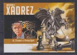 V91. S.Tome E Principe - MNH - 2015 - Sport - Chess - Bl - Non Classés