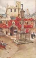 """""""J. Finnemore. Corpus Christi College, Oxford"""" Tuck Oilette Oxford Colleges Ser. PC # 2714 - Tuck, Raphael"""