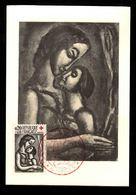 CARTE MAXIMUM - LE MISERERE DE GEORGES ROUAULT AVEC CROIX-ROUGE - Il Serait Si Doux D'Aimer - 1960-69