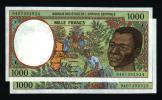 Suite De  2 X 1000 Francs CAMEROUN 1994 NEUF - UNC (N° 370) - Camerun