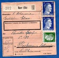 Colis Postal  -  Départ Barr  - Pour Cocheren  - - Allemagne