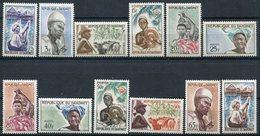 1963- DAHOMEY -DEFINITIVES- 12 VAL. - M.N.H. -LUXE ! - Bénin – Dahomey (1960-...)
