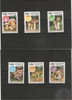 CAMBODGE Flore Champignons Année 1997 N° Y/T : 1455/60** - Cambodia