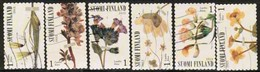 2012 Finland, Spring Blossoms, Complete Set Used. - Finnland