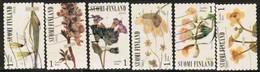 2012 Finland, Spring Blossoms, Complete Set Used. - Finlande