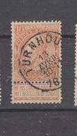 COB 57 Oblitéré TURNHOUT - 1893-1900 Schmaler Bart