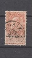 COB 57 Oblitéré RENAIX - 1893-1900 Schmaler Bart